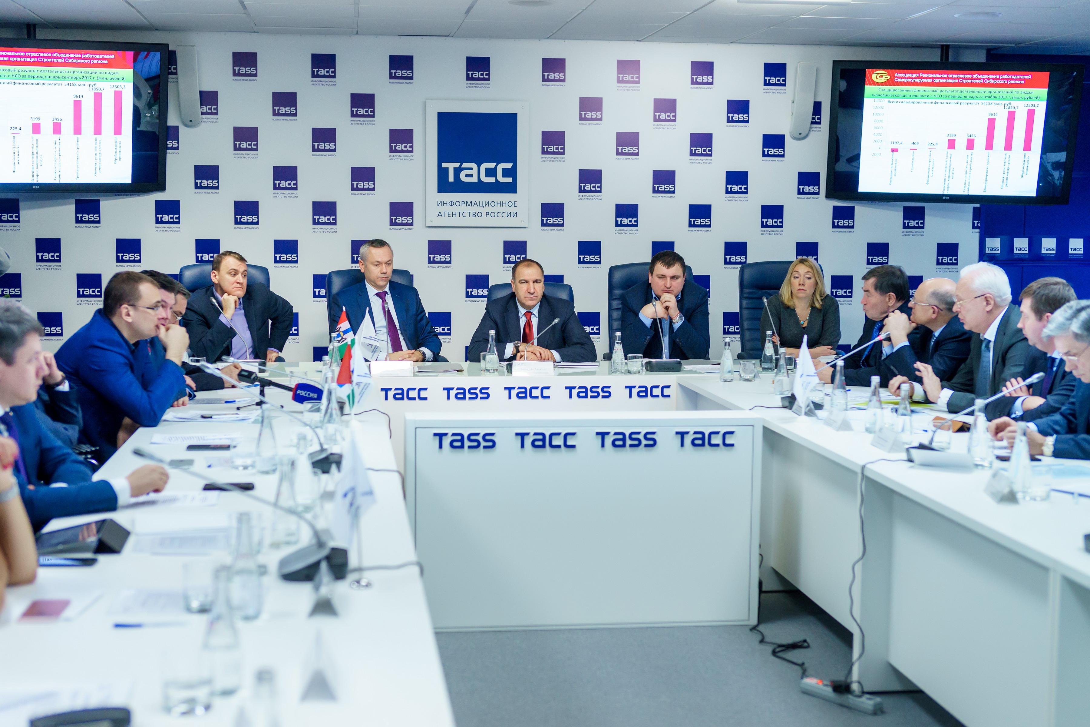 Состоялось расширенное заседание НП «Региональный деловой клуб строителей» с участием исполняющего обязанности  губернатора Новосибирской области Андрея Травникова
