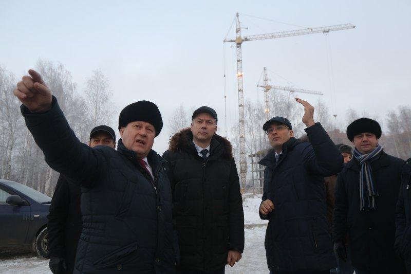 Временно исполняющий обязанности Губернатора области Андрей Травников  провел встречу с руководством ООО «Энергомонтаж»