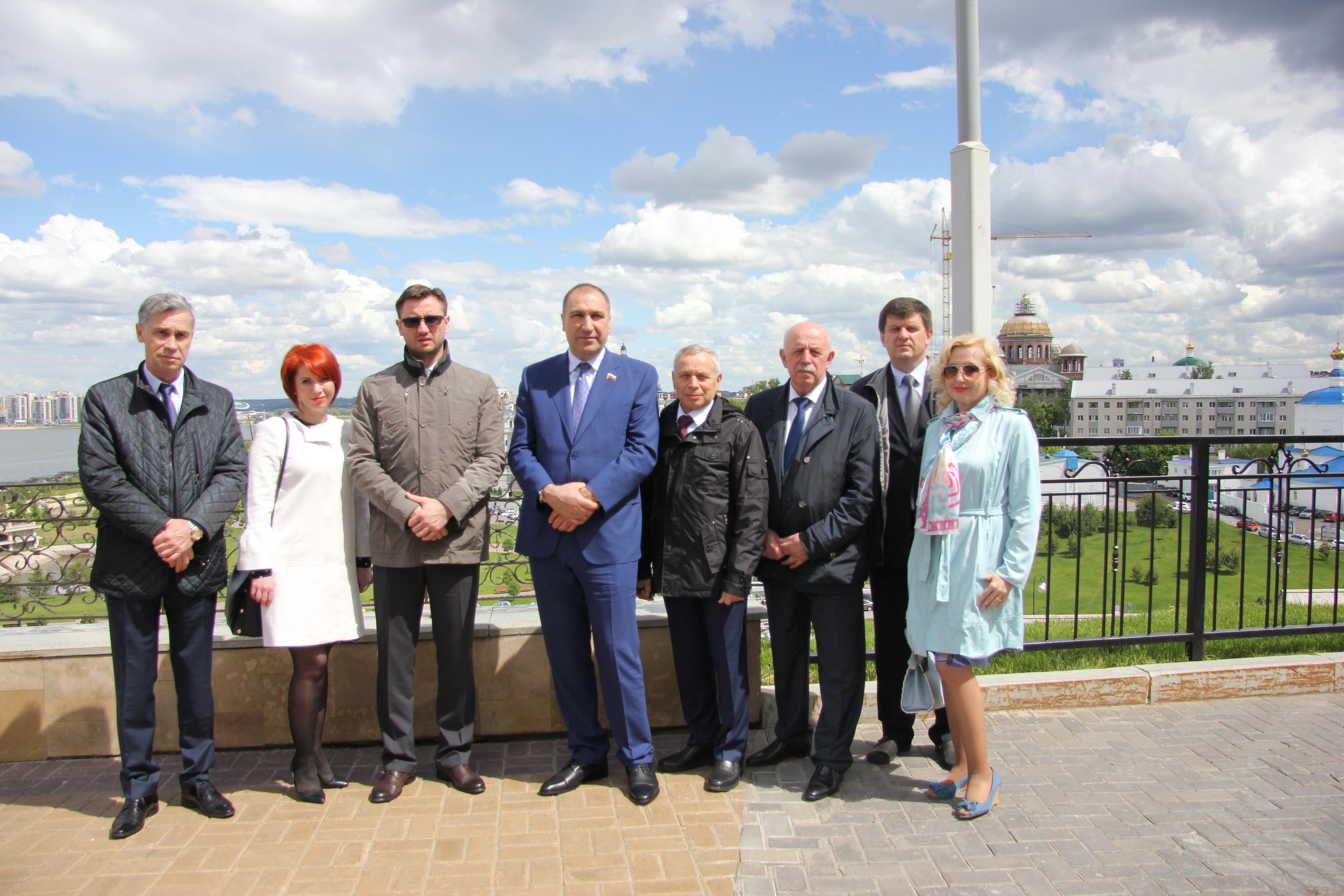 Делегация  Новосибирской области посетила Республику Татарстан
