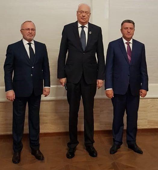 Поздравляем Савельева А.В. с присвоением почетного звания «Заслуженный строитель Новосибирской области»