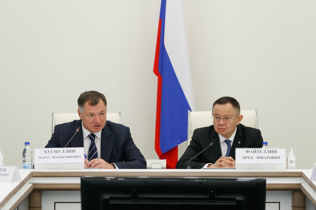 Вице-премьер Правительства Марат Хуснуллин представил нового главу Минстроя России