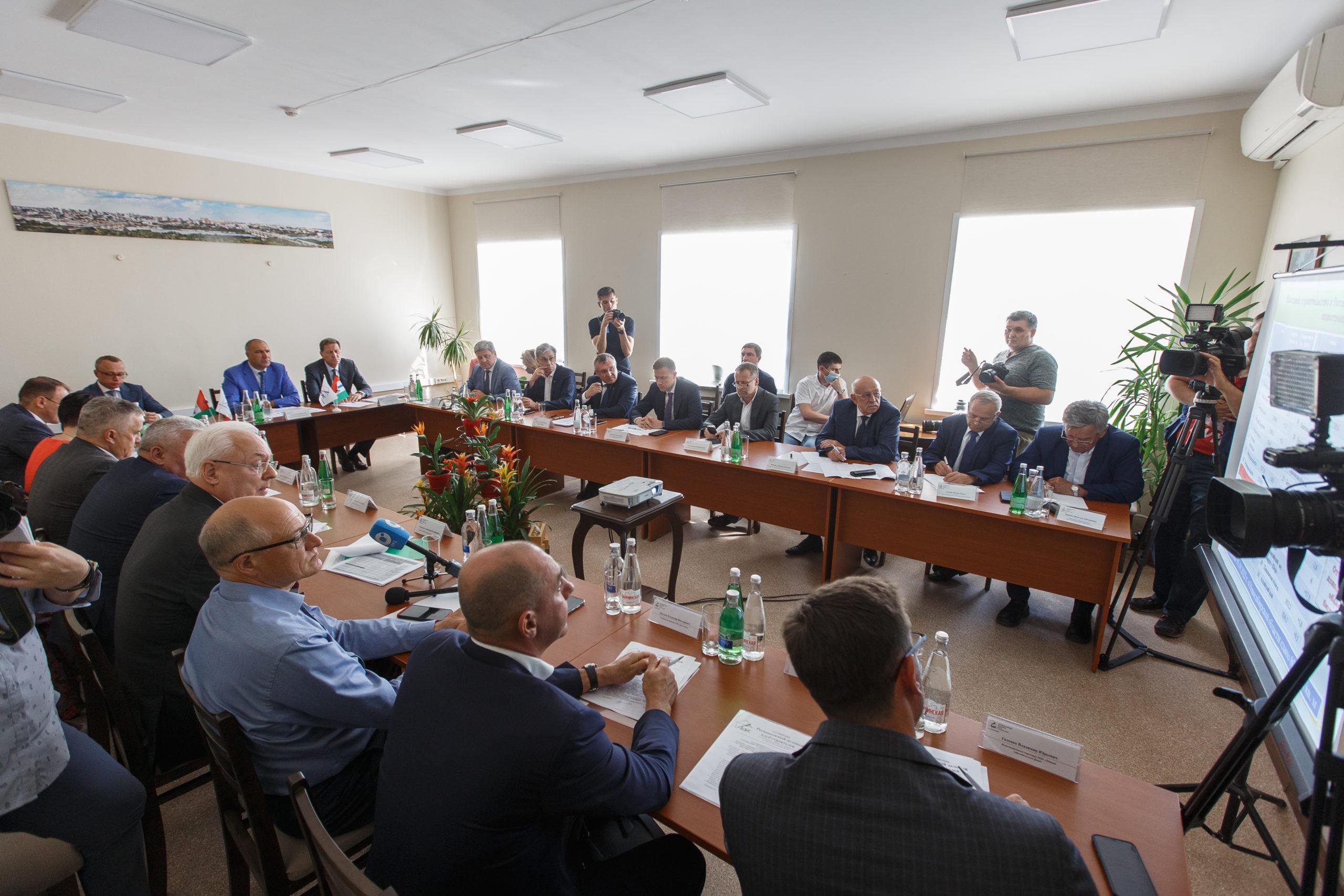 Состоялось расширенное заседание Ассоциации «РДКС» с участием первого заместителя председателя Государственной Думы Федерального собрания Российской Федерации Александра Жукова